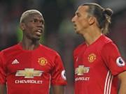 """Bóng đá - MU: Ngày Ibrahimovic và Pogba hóa """"chân gỗ"""""""