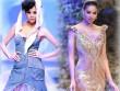 4 hoa hậu Việt tài sắc tự tin làm vedette trên sàn diễn