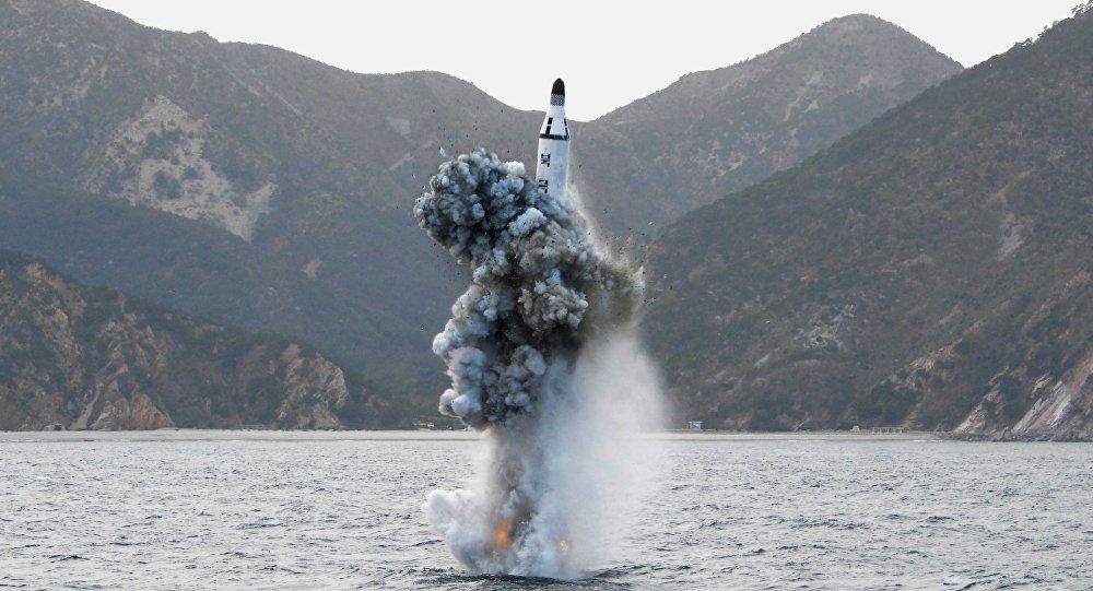 Triều Tiên phát triển tàu ngầm tên lửa đạn đạo hạt nhân - 1