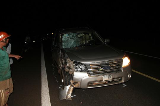 Rời tiệc thôi nôi, 2 thanh niên tông ô tô chết tại chỗ - 2
