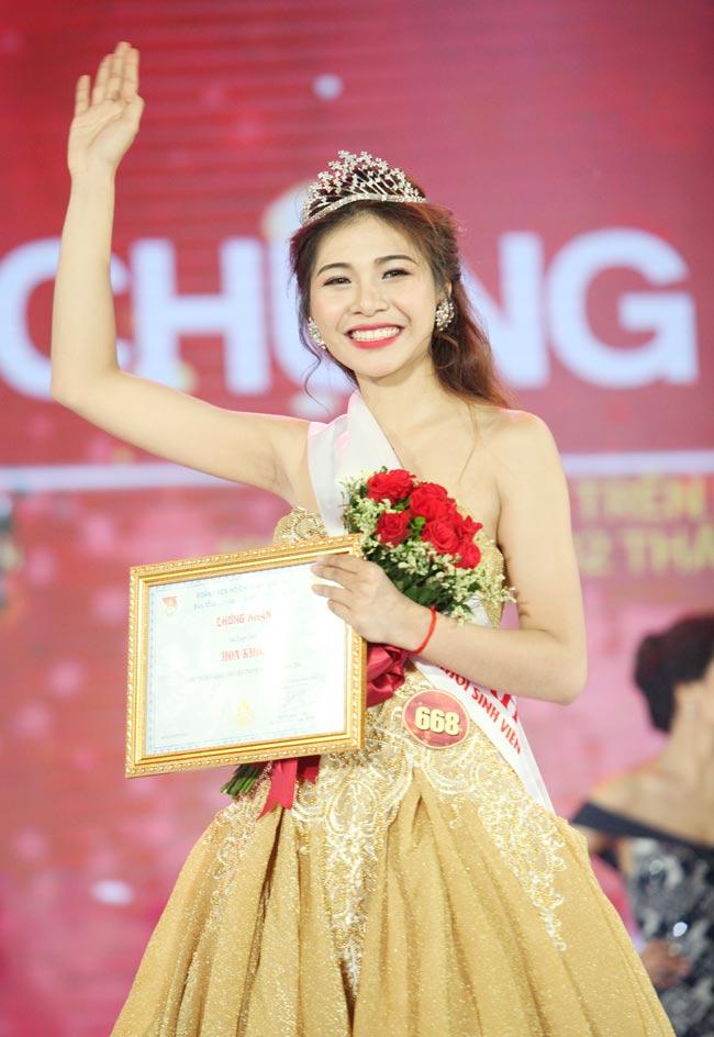 Hoa khôi sinh viên Hà Nội 2016 đã tìm ra chủ nhân mới - 1