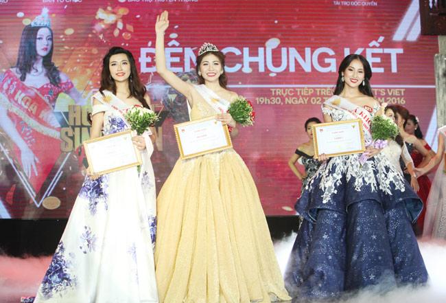Hoa khôi sinh viên Hà Nội 2016 đã tìm ra chủ nhân mới - 3