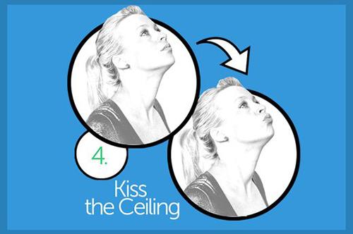 Thực hiện 10 bài tập mỗi tối để cằm hết núng nính mỡ - 4