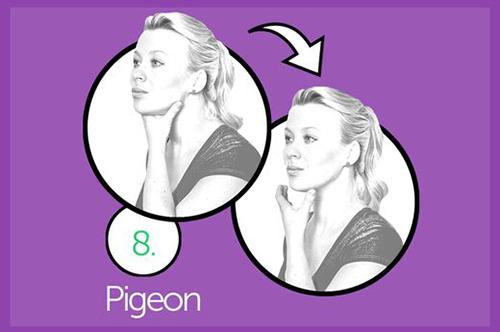Thực hiện 10 bài tập mỗi tối để cằm hết núng nính mỡ - 8