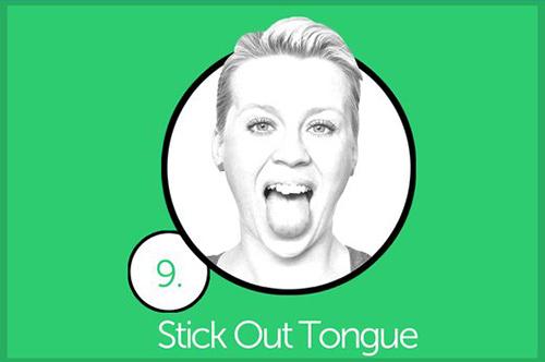 Thực hiện 10 bài tập mỗi tối để cằm hết núng nính mỡ - 9