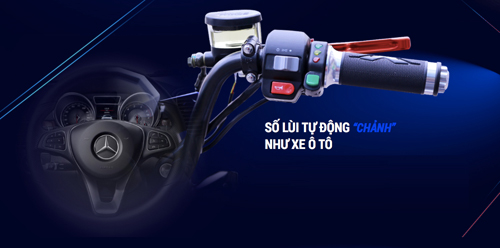 Xe điện cực chất với chế độ số lùi sang chảnh như ô tô - 4