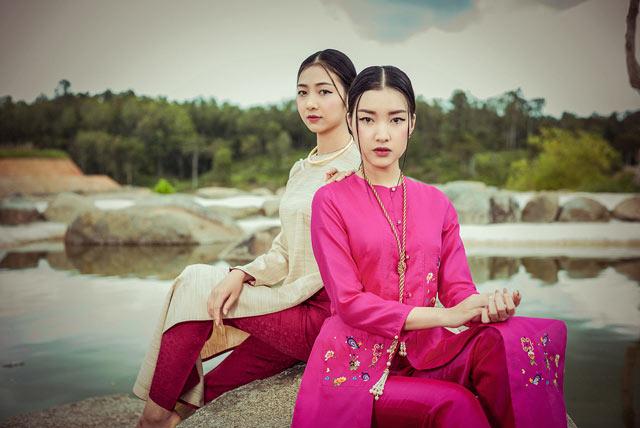"""Top 5 Hoa hậu Việt Nam 2016 đẹp """"nghiêng thành"""" với áo dài - 1"""
