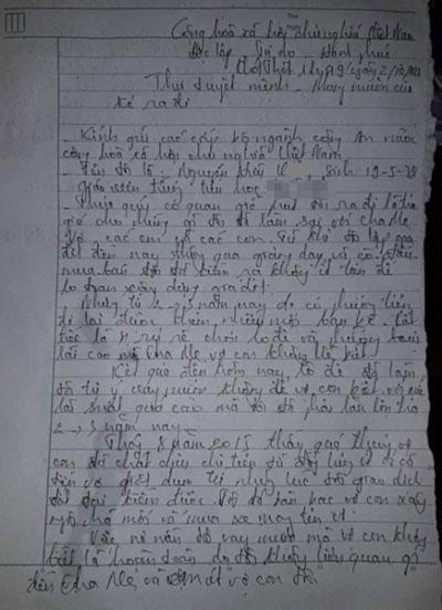 Thầy giáo treo cổ tự tử để lại thư tuyệt mệnh - 1