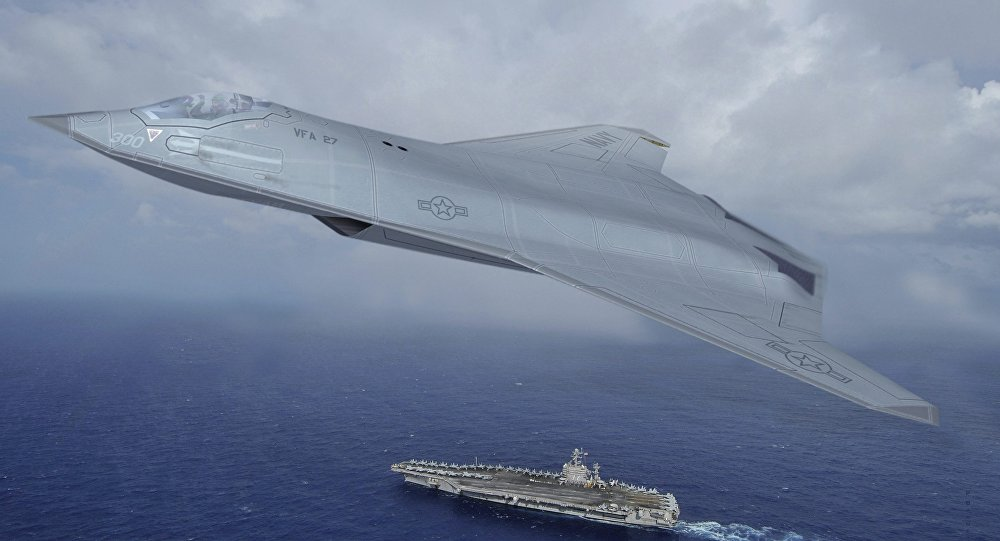 Mỹ trang bị vũ khí laser cho chiến đấu cơ thế hệ 6 - 1
