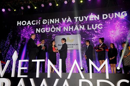BAT Việt Nam nhận giải thưởng HR Awards 2016 - 1