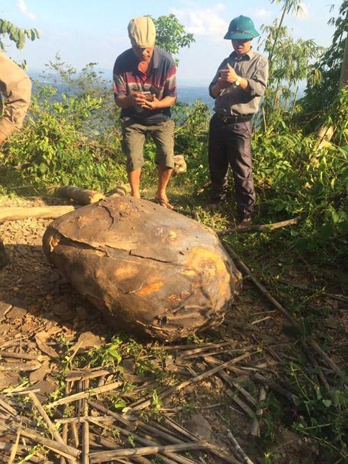 Phát hiện vật thể lạ bị cháy xém ở Thái Nguyên - 2