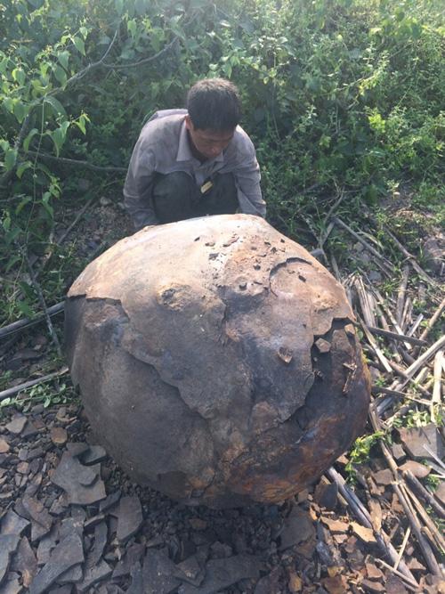 Phát hiện vật thể lạ bị cháy xém ở Thái Nguyên - 3