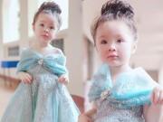 """Bạn trẻ - Cuộc sống - Con gái Elly Trần hóa Lọ Lem """"hớp hồn"""" dân mạng"""