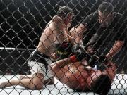 Thể thao - UFC: Chiêu độc dùng chân khóa tay, đối thủ gào xin
