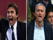 """Bóng đá - Mourinho và Conte: Hai """"thợ xây"""" vất vả nhất NHA"""
