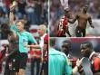 Balotelli bị đuổi sau 6 phút lập siêu phẩm