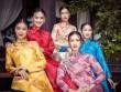 """Top 5 Hoa hậu Việt Nam 2016 đẹp """"nghiêng thành"""" với áo dài"""