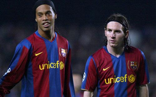 Điều Ronaldinho tiếc nhất: Chơi cùng Messi quá ít - 1