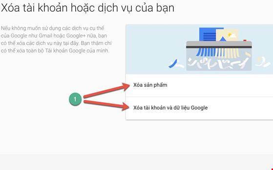 4 bước để xóa vĩnh viễn tài khoản Google - 3