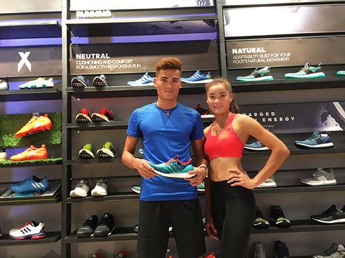 """""""Sao"""" nô nức dự khai trương cửa hàng adidas Royal lớn nhất miền Bắc - 5"""