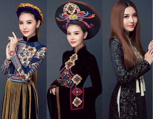 Ngắm quốc phục của chân dài dự thi Miss Global Beauty Queen - 1