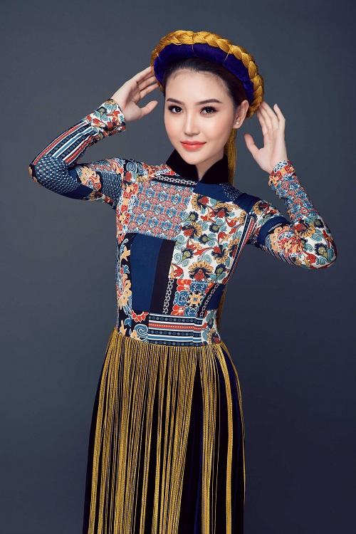 Ngắm quốc phục của chân dài dự thi Miss Global Beauty Queen - 2