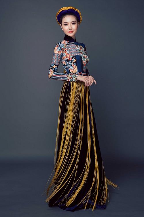 Ngắm quốc phục của chân dài dự thi Miss Global Beauty Queen - 5