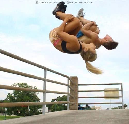 25 triệu lượt xem: Cặp đôi thể dục vi diệu nhất hành tinh - 5