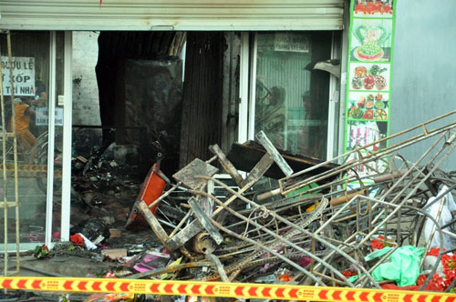 Tan hoang hiện trường vụ cháy tiệm cưới hỏi, 3 người tử vong - 5