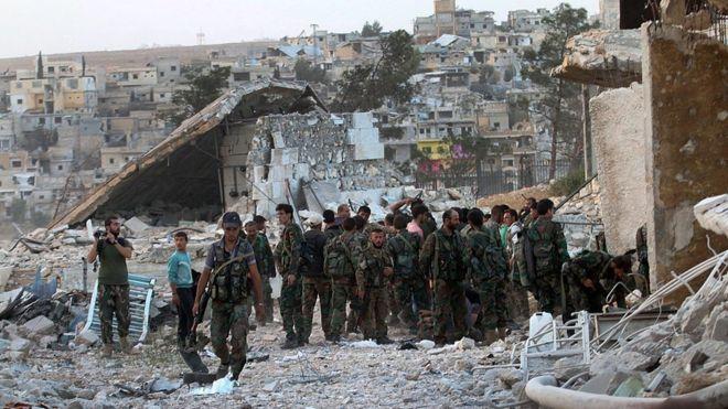 Mỹ ngừng đàm phán với Nga về khủng hoảng Syria - 1