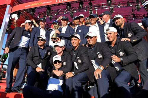 Golf 24/7: Tổng thống Obama tự hào về ĐT Ryder Cup Mỹ - 1