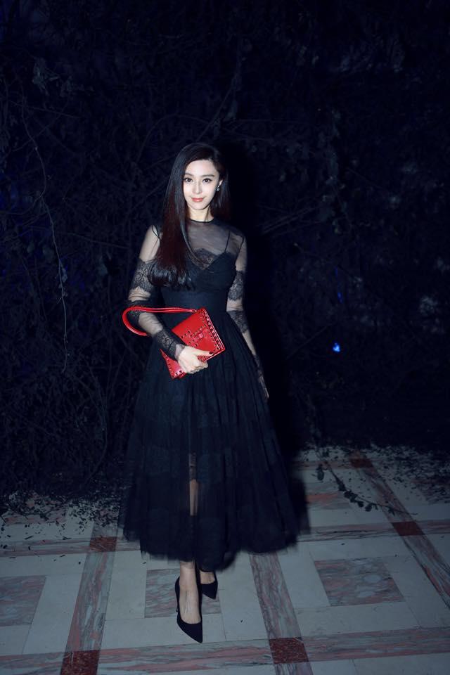 Phạm Băng Băng tỏa sáng tại Paris Fashion Week - 7