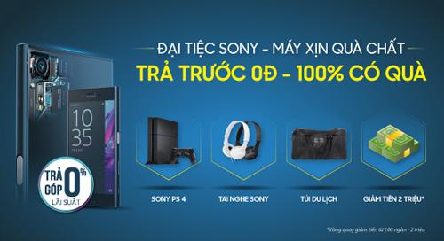 100% nhận quà xịn khi mua Sony tại Viễn Thông A - 1