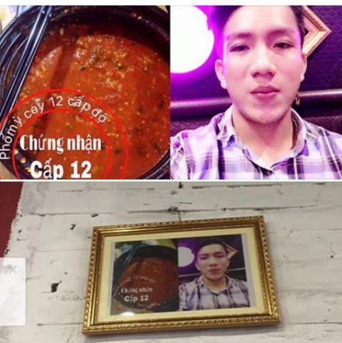 Xôn xao chàng trai ăn mỳ cay cấp độ 12 ở xứ Nghệ - 1
