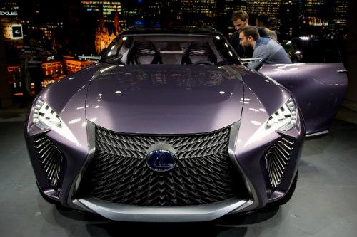 Ngắm trọn Lexus UX concept thiết kế 3D độc nhất vô nhị - 2