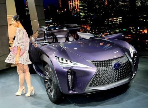Ngắm trọn Lexus UX concept thiết kế 3D độc nhất vô nhị - 1