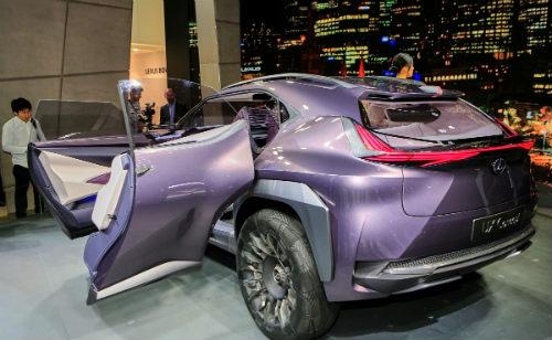 Ngắm trọn Lexus UX concept thiết kế 3D độc nhất vô nhị - 6