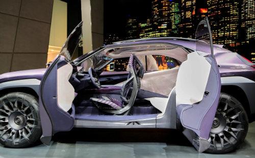 Ngắm trọn Lexus UX concept thiết kế 3D độc nhất vô nhị - 3