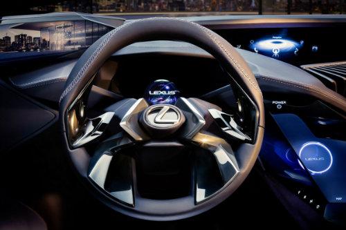 Ngắm trọn Lexus UX concept thiết kế 3D độc nhất vô nhị - 8