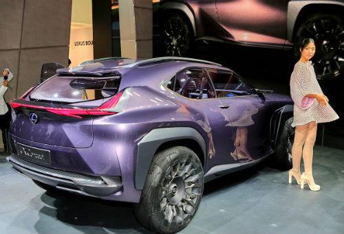Ngắm trọn Lexus UX concept thiết kế 3D độc nhất vô nhị - 5