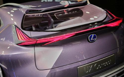 Ngắm trọn Lexus UX concept thiết kế 3D độc nhất vô nhị - 7