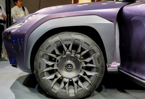 Ngắm trọn Lexus UX concept thiết kế 3D độc nhất vô nhị - 11