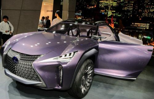 Ngắm trọn Lexus UX concept thiết kế 3D độc nhất vô nhị - 13