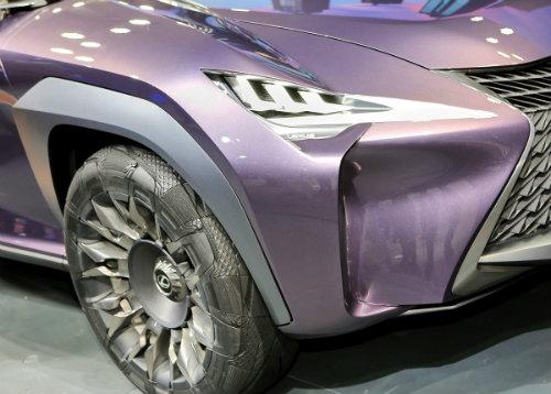 Ngắm trọn Lexus UX concept thiết kế 3D độc nhất vô nhị - 12