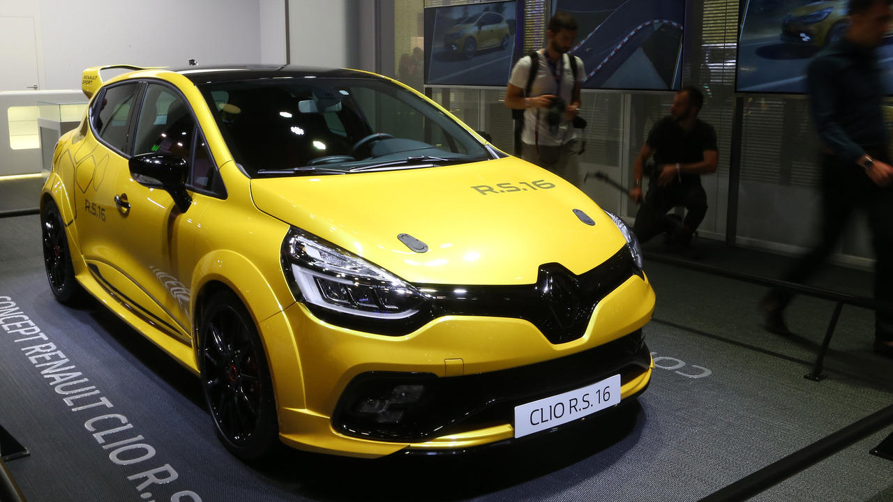 Renault Clio R.S. 16 concept nhỏ gọn ra mắt Paris Motor Show 2016 - 1