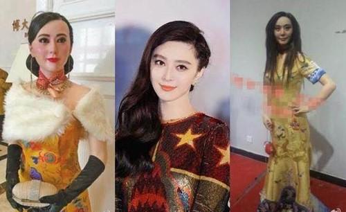 """Khóc thét vì tượng sáp """"quỷ hờn"""" của Phạm Băng Băng - 1"""