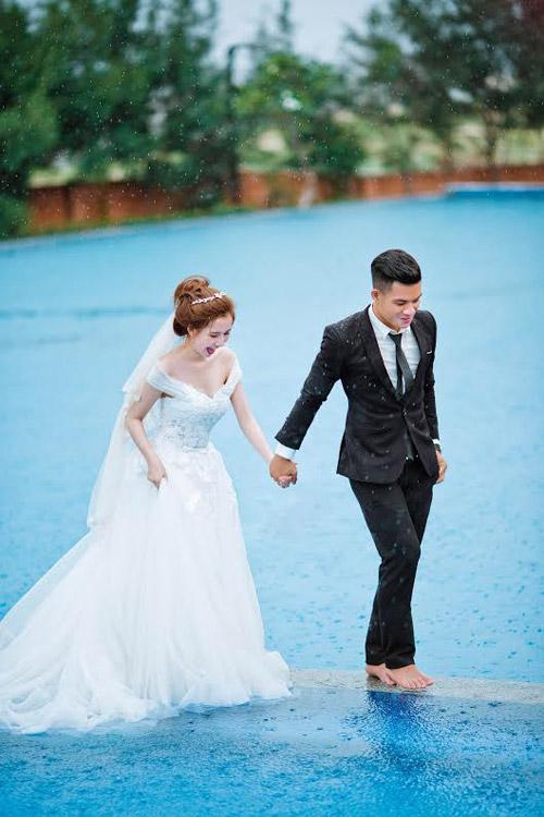Gặp cô vợ xinh như minh tinh của cầu thủ Huỳnh Tấn Tài - 7