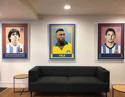 """""""Gánh đội"""" giỏi nhất lịch sử: Messi, Maradona & Pele - 1"""