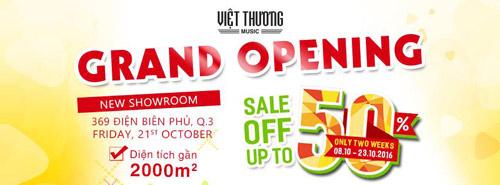 Quà tặng cho tín đồ yêu nhạc tại showroom nhạc cụ lớn nhất Việt Nam - 1