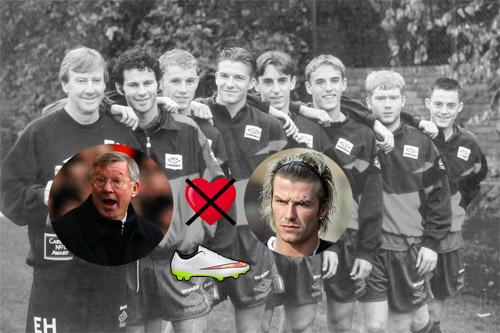 Scandal thầy-trò rúng động: Sir Alex, vết thương lòng vì Beckham (P1) - 1